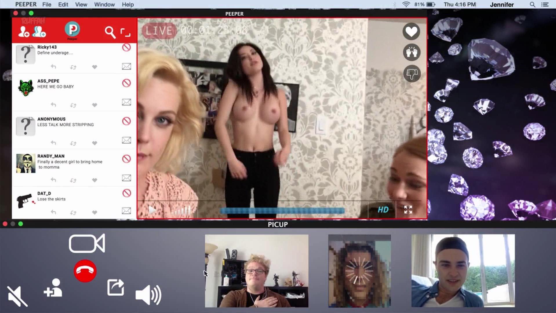 Megan Medellin nude, Gabrielle Romanello nude - Captured (2017)