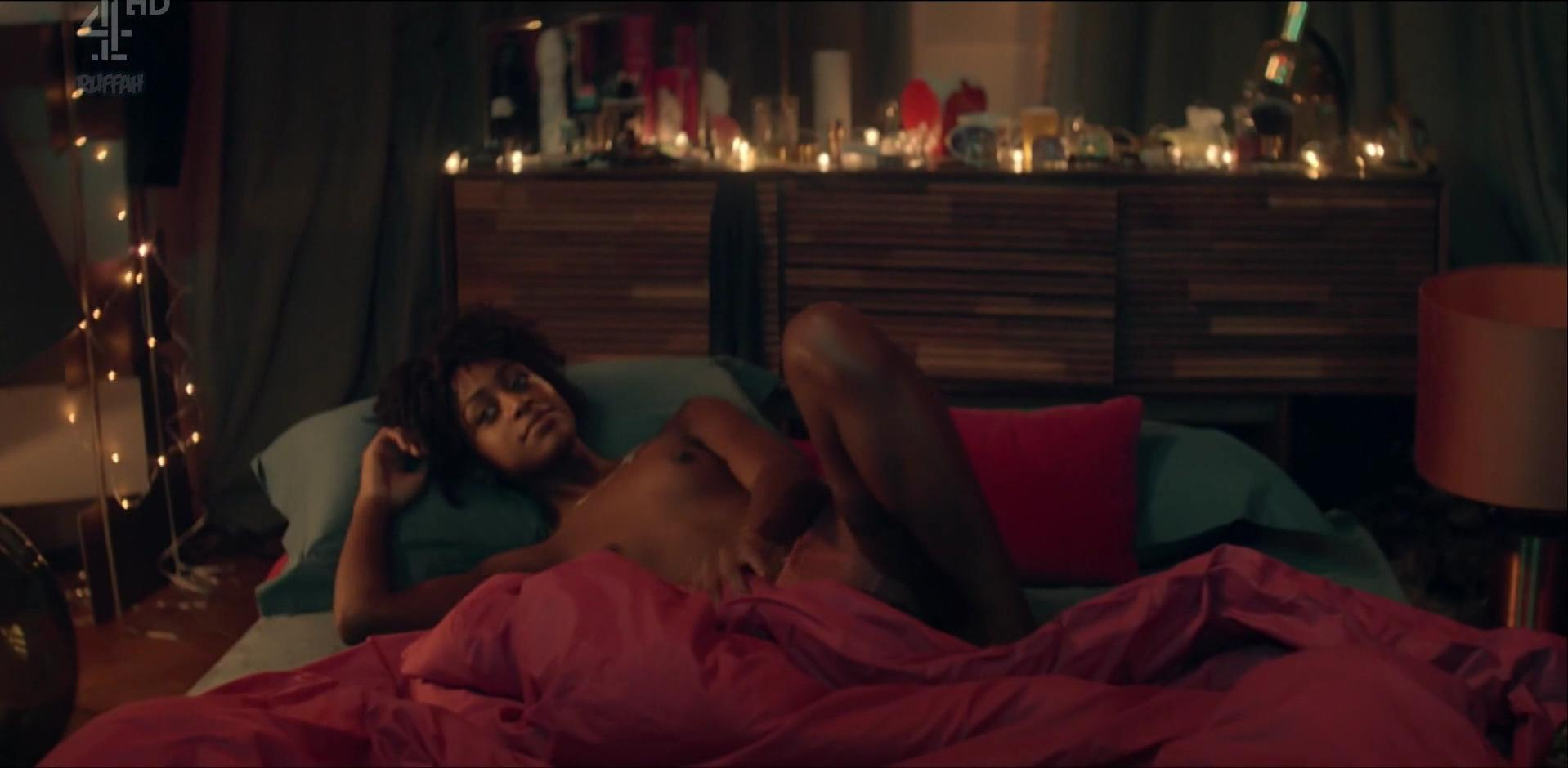 Simona Brown nude, Tallulah Haddon sexy - Kiss Me First s01e01 (2018)