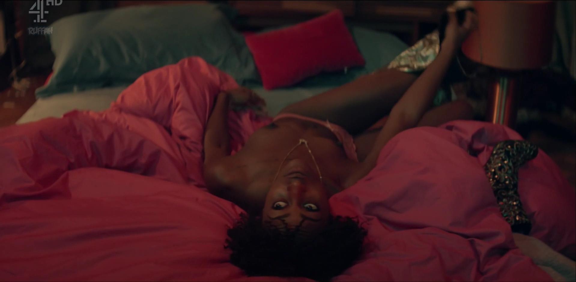 Simona Brown nude, Tallulah Haddon sexy - Kiss Me First s01e01 (2018)